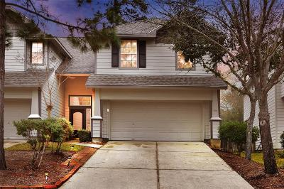 The Woodlands TX Condo/Townhouse For Sale: $205,000