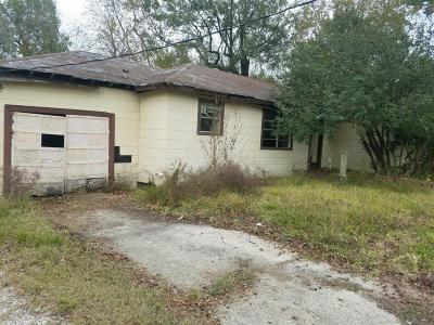 Channelview Single Family Home For Sale: 15105 N Brentwood Street