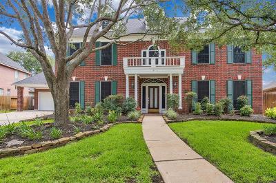 Katy Single Family Home For Sale: 3123 Latrobe Lane