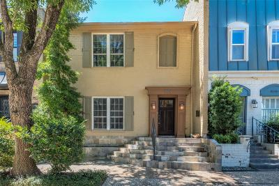 Houston Condo/Townhouse For Sale: 7529 Olympia Drive