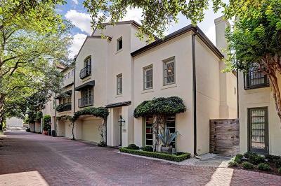 Houston Condo/Townhouse For Sale: 3956 W Alabama Street