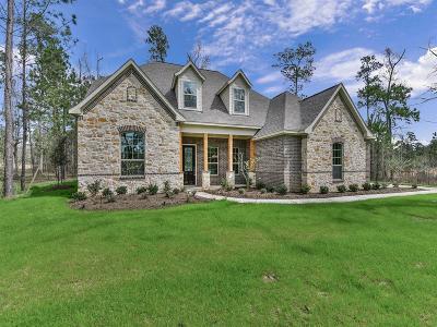 Montgomery Single Family Home For Sale: 409 Ridgelake Scenic Drive