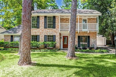 The Woodlands Single Family Home For Sale: 2822 S Logrun Circle