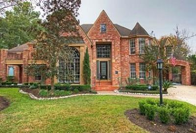 The Woodlands Single Family Home For Sale: 5 Meadow Cove Drive