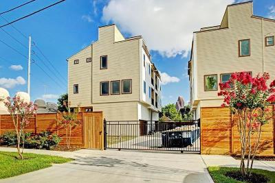 Houston Single Family Home For Sale: 1005 Bingham Street #2