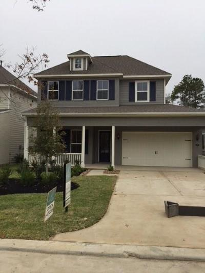 Montgomery County Single Family Home For Sale: 125 Verandah House Boulevard