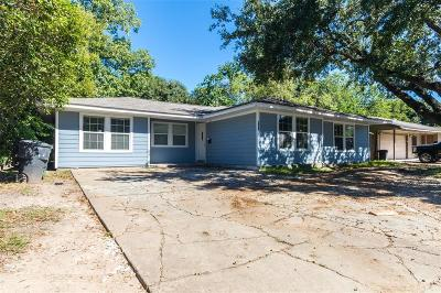 Houston Single Family Home For Sale: 7954 Hammerly Boulevard