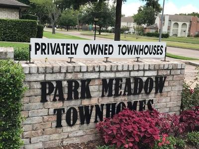 Stafford Condo/Townhouse For Sale: 11706 S Kirkwood Road
