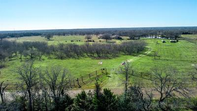 Fayette County Farm & Ranch For Sale: 2800 N Old Smithville Road