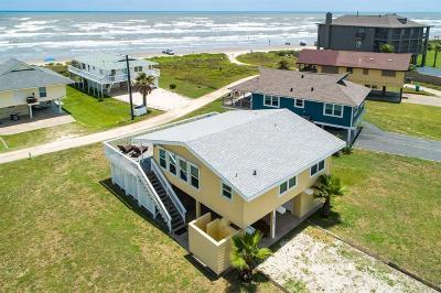 Galveston Single Family Home For Sale: 16721 Jamaica Beach Road