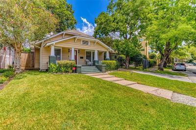 Houston Single Family Home For Sale: 519 Ridge Street