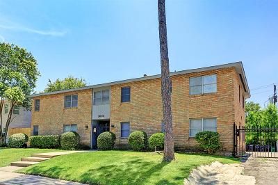 Houston Multi Family Home For Sale: 3603 Murworth Drive #6