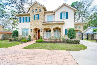 Houston Single Family Home For Sale: 12907 Memorial Drive