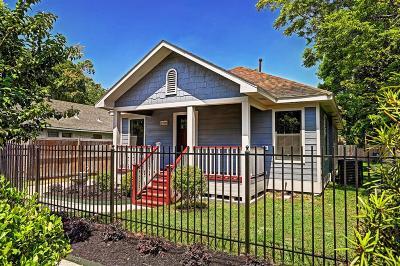 Houston Single Family Home For Sale: 1906 Chew Street