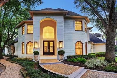 Bunker Hill Village Single Family Home For Sale: 824 Ourlane Circle