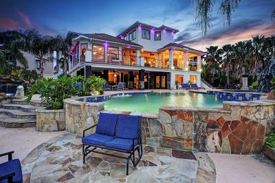 Kemah Single Family Home For Sale: 2240 Marina Way