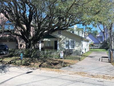 Houston Single Family Home For Sale: 910 Knox Street