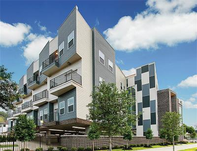 Houston Condo/Townhouse For Sale: 1011 Studemont #309