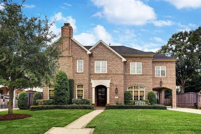Houston Single Family Home For Sale: 6147 Sugar Hill Drive