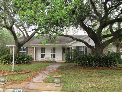 Houston Single Family Home For Sale: 18207 Cape Bahamas Lane