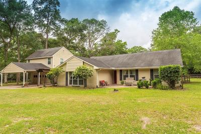 Conroe Single Family Home For Sale: 15200 Moonlight Trail