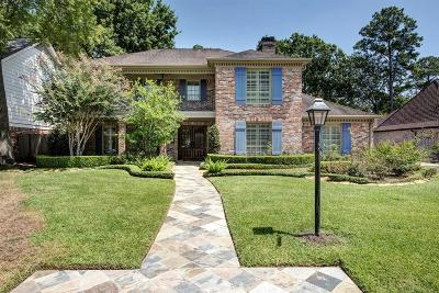 Houston TX Single Family Home For Sale: $1,090,000