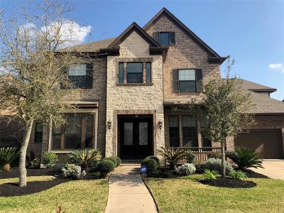 Katy Single Family Home For Sale: 62 Azure Lake Court