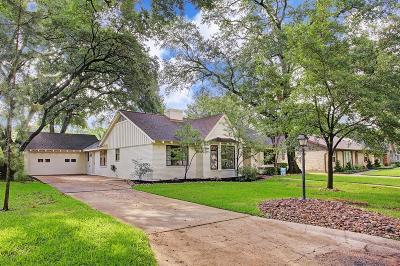 Houston Single Family Home For Sale: 2018 Millwood Drive