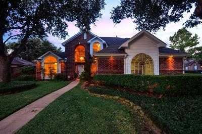 Galveston County, Harris County Single Family Home For Sale: 1011 Majestic Cove Court