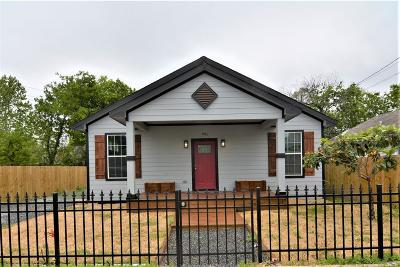 Houston Single Family Home For Sale: 901 Wooding Street