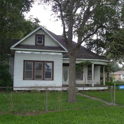 Austin County Single Family Home For Sale: 6202 Railroad Street