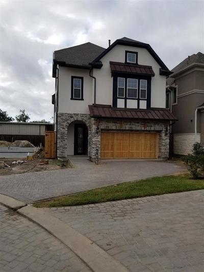 Houston Single Family Home For Sale: 1703 Waterbury