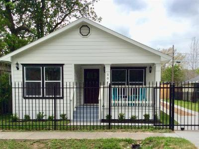 Houston Single Family Home For Sale: 307 Northwood Street