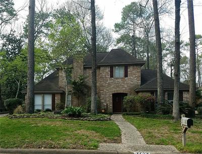 Kingwood Single Family Home For Sale: 3527 Oak Lake Drive