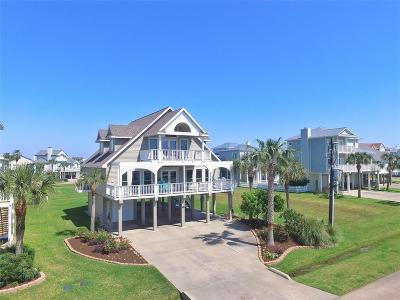 Galveston Single Family Home For Sale: 4111 Swashbuckle