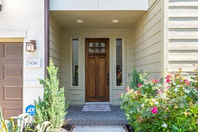 Single Family Home For Sale: 5424 Petty Street #C