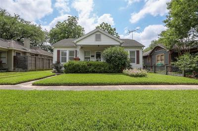 Houston Single Family Home For Sale: 4619 Norhill Boulevard
