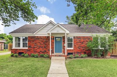 Houston Single Family Home For Sale: 303 Kelley Street