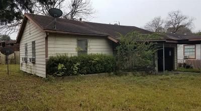 Houston Single Family Home For Sale: 1114 Wellington Street