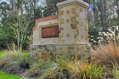 Spring Residential Lots & Land For Sale: 7 Old Overton Place