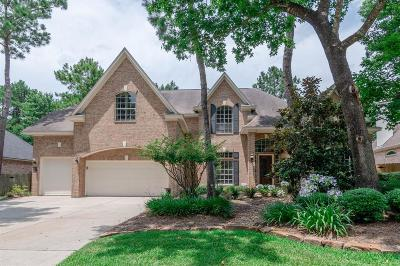 The Woodlands Single Family Home For Sale: 22 Moss Bluff Court