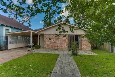 Houston Single Family Home For Sale: 1244 Oxford Street