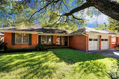 Houston Single Family Home For Sale: 6215 Grovewood Lane
