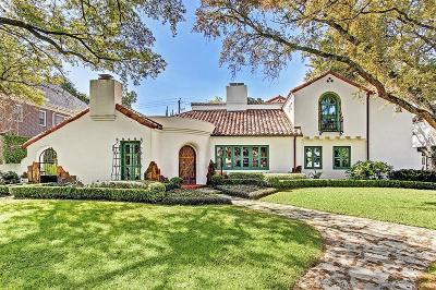 River Oaks Single Family Home For Sale: 2203 Brentwood Drive