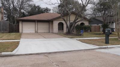 Sugar Land Single Family Home Option Pending: 1318 Barrowgate