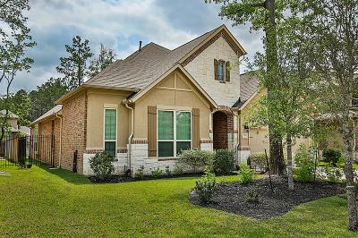 Tomball Single Family Home For Sale: 74 Hamlin Lake Drive