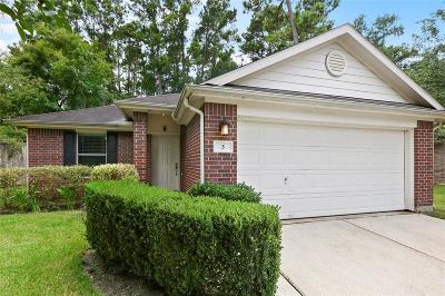 The Woodlands Single Family Home For Sale: 3 Thicket Grove Place