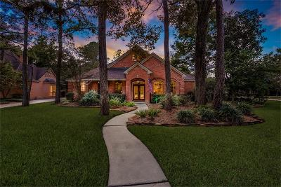 The Woodlands Single Family Home For Sale: 8 Hidden Pond Place