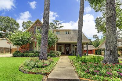 Houston Single Family Home For Sale: 111 Briar Hill Drive