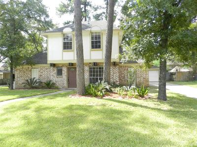 Tomball Single Family Home For Sale: 15523 Canterbury Forest Drive